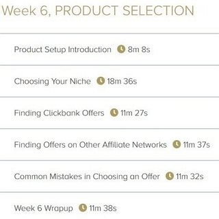 Week 6. Product Selection - 6 Videos